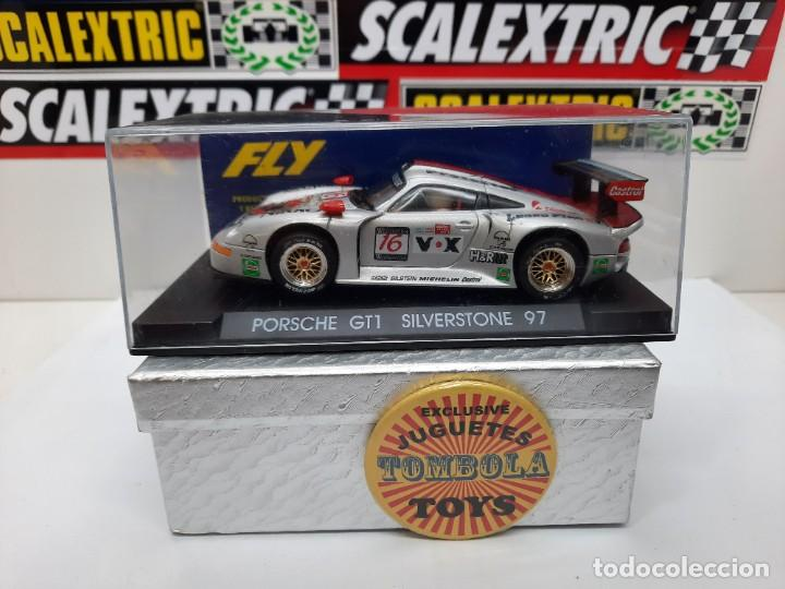 PORSCHE GT1 SILVERSTONE 97 #16 FLY SCALEXTRIC (Juguetes - Slot Cars - Fly)