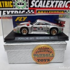 Slot Cars: PORSCHE GT1 SILVERSTONE 97 #16 FLY SCALEXTRIC. Lote 225553105