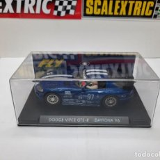 Slot Cars: DODGE VIPER GTS-R DAYTONA 96 #97 FLY SCALEXTRIC. Lote 225562258