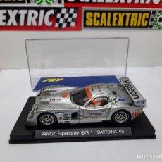 Slot Cars: PANOZ ESPERANTE GTR 1 DAYTONA 98 #99 FLY SCALEXTRIC. Lote 225565942