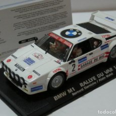 Slot Cars: BMW M1 RALLYE DU VAR 1981 FLY/ SCALEXTRIC NUEVO EN CAJA. Lote 225999955