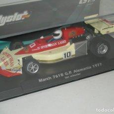 Slot Cars: F1 MARCH 761B SCHECTER FLYSLOT/ SCALEXTRIC NUEVO EN CAJA. Lote 226125315