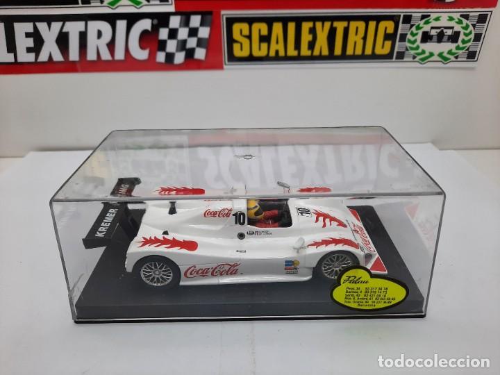 Slot Cars: LOLA B98/10 FIA SRWC 2001 COCA COLA FLY #10 SCALEXTRIC - Foto 11 - 226226025