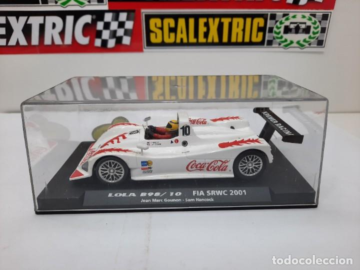 Slot Cars: LOLA B98/10 FIA SRWC 2001 COCA COLA FLY #10 SCALEXTRIC - Foto 13 - 226226025