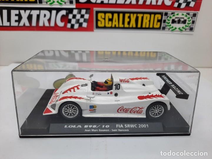 LOLA B98/10 FIA SRWC 2001 COCA COLA FLY #10 SCALEXTRIC (Juguetes - Slot Cars - Fly)