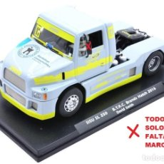 Slot Cars: OFERTA FRIDAY REBAJA DE 50 EUR - CAMION FLY SISU SL 250 - SLOT CAR (NUEVO SOLO FALTAN ESPEJOS). Lote 226776250