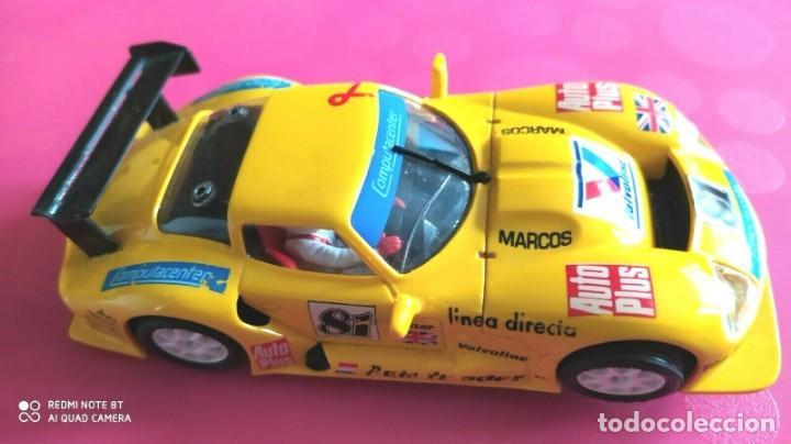 Slot Cars: SLOT MARCOS 600 LM Nº 81 FLY ESCALA 1/32 - Foto 2 - 227769535