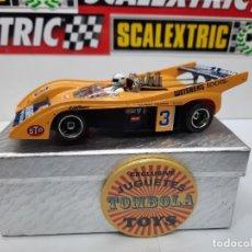 Slot Cars: MCLAREN M20 #3 SLOT CARRERA EVOLUTION SCALEXTRIC , DESCRIPCION... Lote 227936590