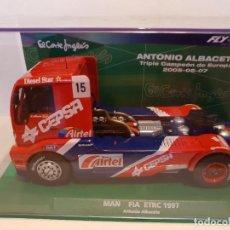 Slot Cars: CAMIÓN MAN ETRC 1997 DE FLY REF.-08052 EDICION ESPECIAL EL CORTE INGLES ANTONIO ALBACETE. Lote 228003615