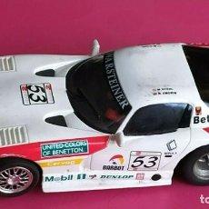 Slot Cars: SLOT DODGE VIPER GTS-R A1 RING 98 BENETTON FLY ESCALA 1/32. Lote 228167590