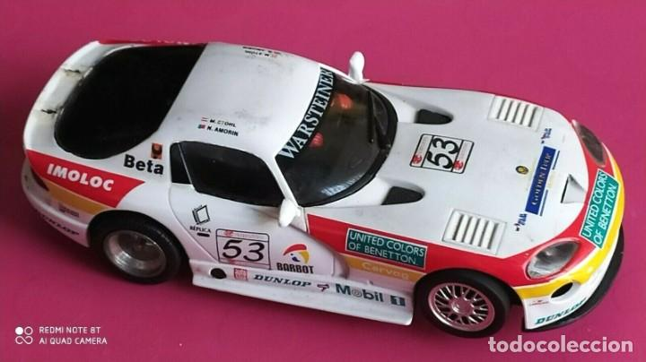 Slot Cars: SLOT DODGE VIPER GTS-R A1 RING 98 BENETTON FLY ESCALA 1/32 - Foto 2 - 228167590
