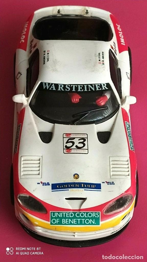 Slot Cars: SLOT DODGE VIPER GTS-R A1 RING 98 BENETTON FLY ESCALA 1/32 - Foto 3 - 228167590