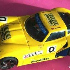 Slot Cars: MARCOS 600 LM FLY DONINGTON 97 AMARILLO ESCALA 1/32. Lote 228185160