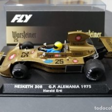 Slot Cars: HESKETH 308 Nº25 WARSTEINER DE FLY. Lote 228209295