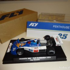 Slot Cars: FLY. HESKETH 308. G.P. ALEMANIA 1976. PENTHOUSE. GUY EDWARDS. REF. A2031. NOVEDAD!!. Lote 228342060