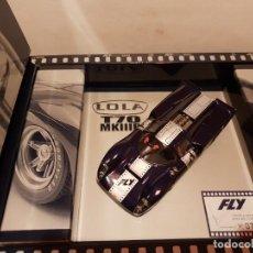 Slot Cars: LOLA T70 DE FLY REF.-S2003. Lote 228928325