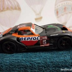 Slot Cars: FLY A-365 MARCOS LM 600 CAMPEONATO DE ESPAÑA GT. XBOX - REPSOL. Lote 229921465