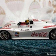 Slot Cars: LOLA B98/10 FIA SRWC 2001 COCA COLA FLY #10 SCALEXTRIC. Lote 229926995
