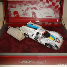 Slot Cars: FLY. LOLA T-70 CHEQUERED FLAQ. ACCIDENTADO. REF. Z02. Lote 231823925
