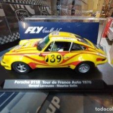 Slot Cars: 88242 - PORSCHE 911 R RALLY TOUR DE FRANCIA 1970 DE FLY. Lote 232162250