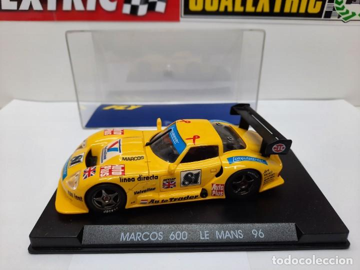 """Slot Cars: MARCOS 600 LE MANS 96 FLY """"Ref 21 AMARILLO"""" SCALEXTRIC - Foto 2 - 232344240"""