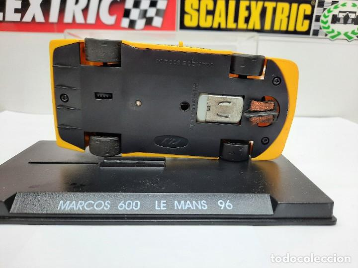"""Slot Cars: MARCOS 600 LE MANS 96 FLY """"Ref 21 AMARILLO"""" SCALEXTRIC - Foto 5 - 232344240"""