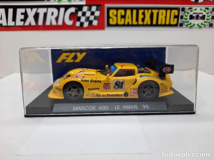 """Slot Cars: MARCOS 600 LE MANS 96 FLY """"Ref 21 AMARILLO"""" SCALEXTRIC - Foto 9 - 232344240"""