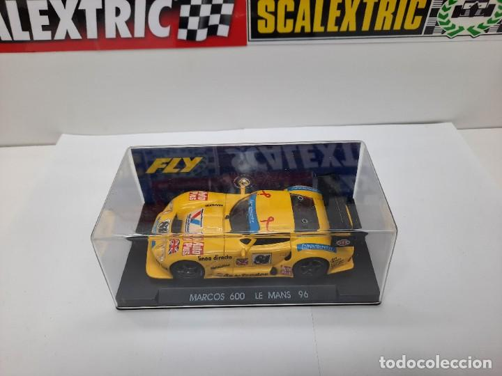 """Slot Cars: MARCOS 600 LE MANS 96 FLY """"Ref 21 AMARILLO"""" SCALEXTRIC - Foto 13 - 232344240"""