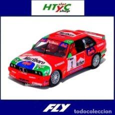Slot Cars: FLY BMW M3 E30 #1 RALLY VILLA DE TEROR 2000 J.M. PONCE / LARRODE A2022. Lote 232247855