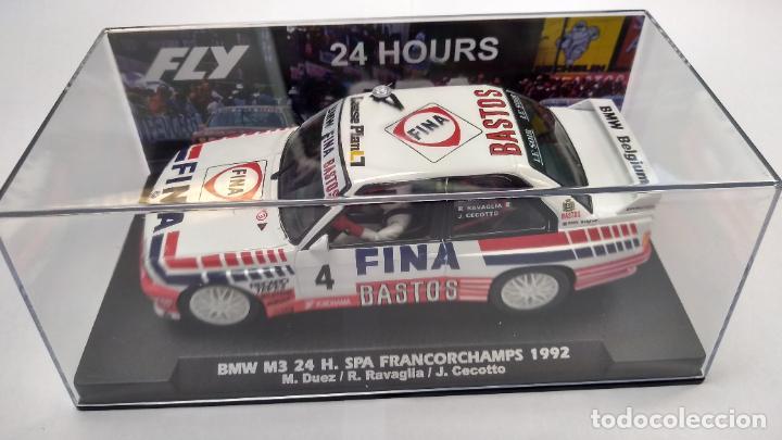 Slot Cars: FLY BMW M3 24H SPA FRANCORCHAMPS 1992, #4, BASTOS FINA ,VÁLIDO SCALEXTRIC - Foto 2 - 276178058