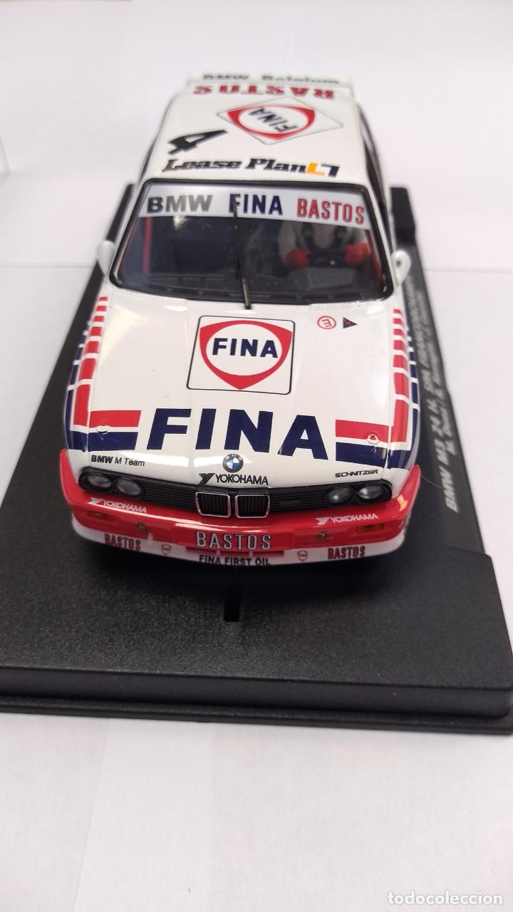 Slot Cars: FLY BMW M3 24H SPA FRANCORCHAMPS 1992, #4, BASTOS FINA ,VÁLIDO SCALEXTRIC - Foto 3 - 276178058