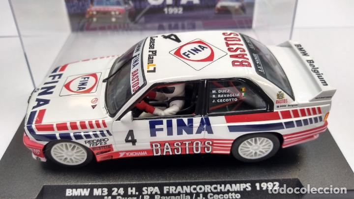 FLY BMW M3 24H SPA FRANCORCHAMPS 1992, #4, BASTOS FINA ,VÁLIDO SCALEXTRIC (Juguetes - Slot Cars - Fly)