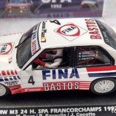 Slot Cars: FLY BMW M3 24H SPA FRANCORCHAMPS 1992, #4, BASTOS FINA ,VÁLIDO SCALEXTRIC. Lote 276178058