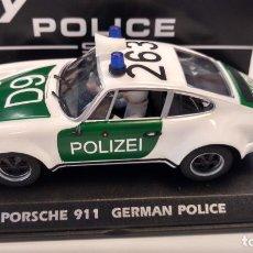 Slot Cars: FLY PORSCHE 911 POLIZEI POLICÍA ALEMANA. REFA2016,VÁLIDO SCALEXTRIC, NINCO,ETC.NUEVO EN URNA. Lote 234820530