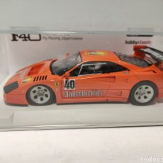 Slot Cars: FLY FERRARI F40 RACING JAGERMEISTER HOBBYCLASSIC MOTOR SCALEXTRIC RX41. Lote 235322615