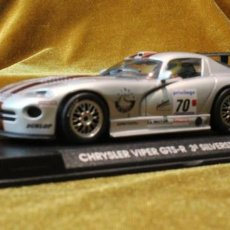 Slot Cars: CHRYSLER VIPER GTS-R SILVERSTONE 1999,SCALEXTRIC FLY.. Lote 235526100