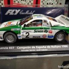 Slot Cars: A-991. LANCIA 037 TOTIP CAMPEON DE ESPAÑA DE RALLYES DE SERVIA DE FLY. Lote 236017935