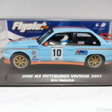 Slot Cars: FLY BMW M3 E30 PITTSBURGH VINTAGE 2007 FLYSLOT REF. 038106. Lote 236725700