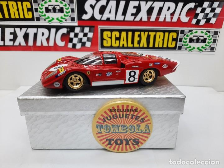 FERRARI 512 S #8 SLOT FLY SCALEXTRIC !! DESCRIPCION... (Juguetes - Slot Cars - Fly)