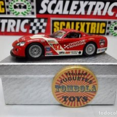 Slot Cars: DODGE VIPER #92 CON LUCES #SUPERSLOT SCALEXTRIC !! DESCRIPCION.... Lote 236812740