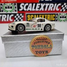 Slot Cars: VIPER GTS R # 98 FLY SCALEXTRIC !! DESCRIPCION.... Lote 236816980