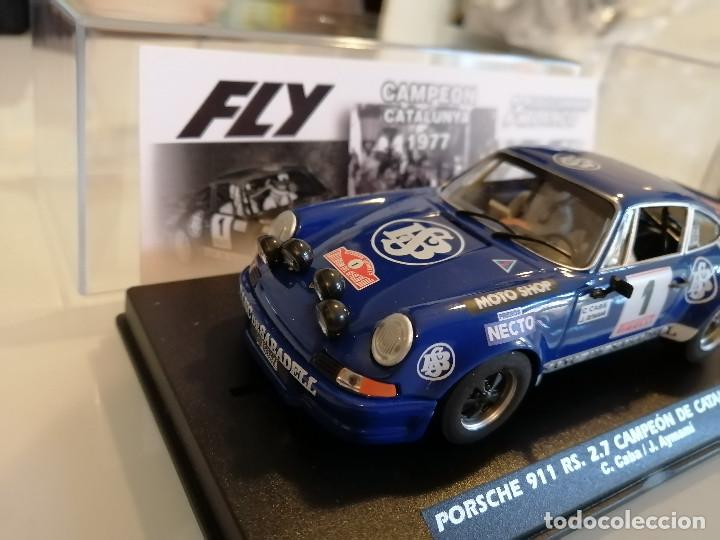 Slot Cars: E2018 - PORSCHE 911 RS CAMPEON DE CATALUNYA 1977 DE FLY - Foto 2 - 236822885