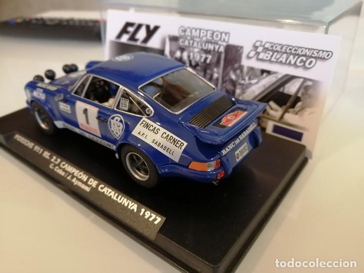 Slot Cars: E2018 - PORSCHE 911 RS CAMPEON DE CATALUNYA 1977 DE FLY - Foto 3 - 236822885