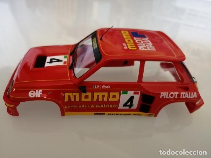 CARROCERIA RENAULT 5 DECORACION MOMO DE FLY (Juguetes - Slot Cars - Fly)