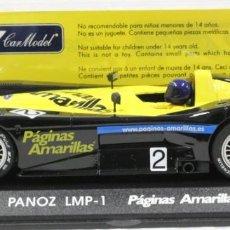 Slot Cars: FLY T-3 PANOZ LMP-1 PÁGINAS AMARILLAS EDICION ESPECIAL. Lote 237257140