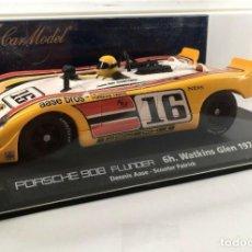 Slot Cars: FLY 88047 A-411 PORSCHE 908 FLUNDER 6H WATKINS GLEN 1974. Lote 237265355