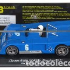 Slot Cars: GB TRACK EGB-12 CHEVRON B19 1000 KM. BARCELONA 1971. Lote 237266205