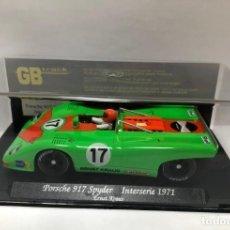 Slot Cars: GB TRACK GB-3 PORSCHE 917 SPYDER INTERSERIE 1971. Lote 237267305