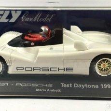 Slot Cars: FLY 88064 A-44 JOEST PORSCHE TEST DAYTONA 1995. Lote 237268325