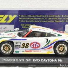 Slot Cars: FLY A-53 PORSCHE 911 GT1 EVO DAYTONA 98. Lote 237269145